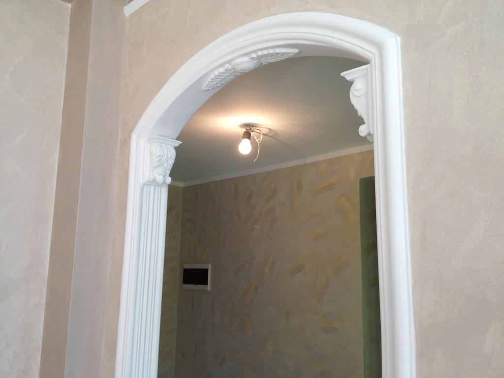 Tecniche di pittura pareti antonio liso imbianchino milano stucco veneziano - Archi interni rivestiti in pietra ...