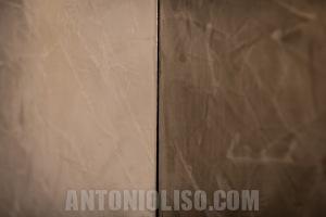 stucco spatolato lucido, pareti d'autore