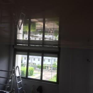 Spatolato veneziano al soffitto