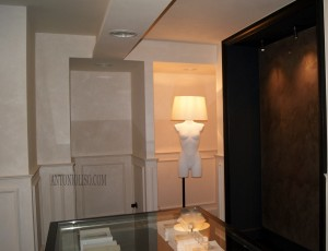 Showroom stucco veneziano