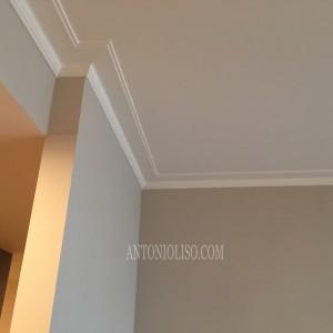 Decorazioni in gesso , pitturare casa interna