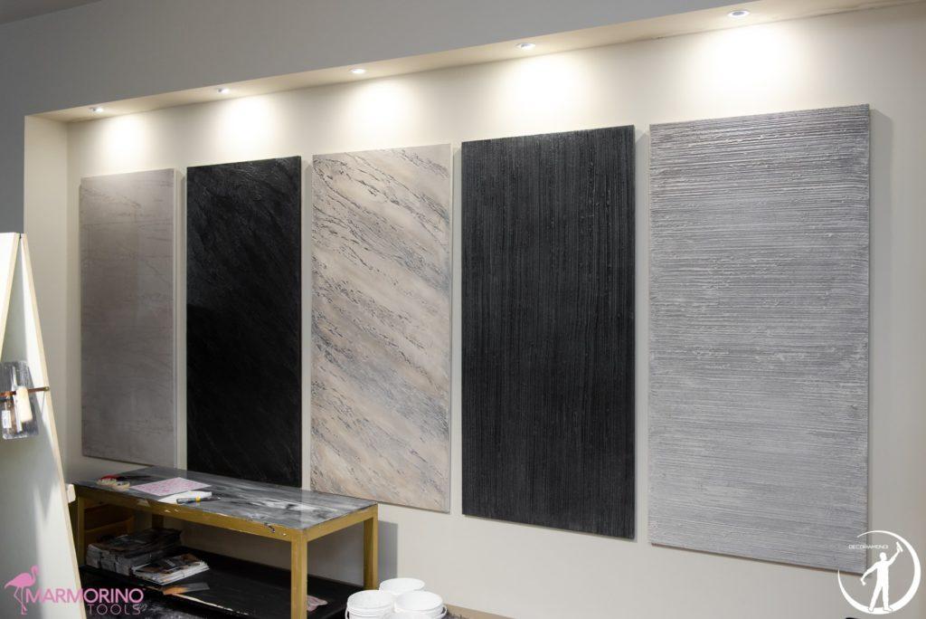 Pittura materica pareti