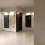show room Antonio Liso immagini decorazioni materiche