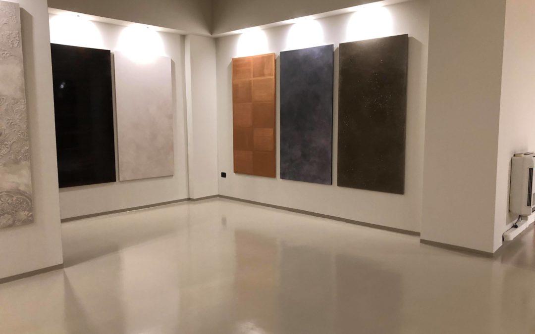 show room Antonio Liso immagini di alcune decorazioni murali
