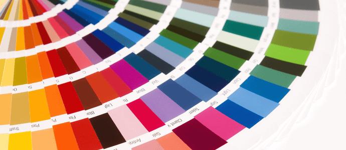 la scelta dei colori, colori primari