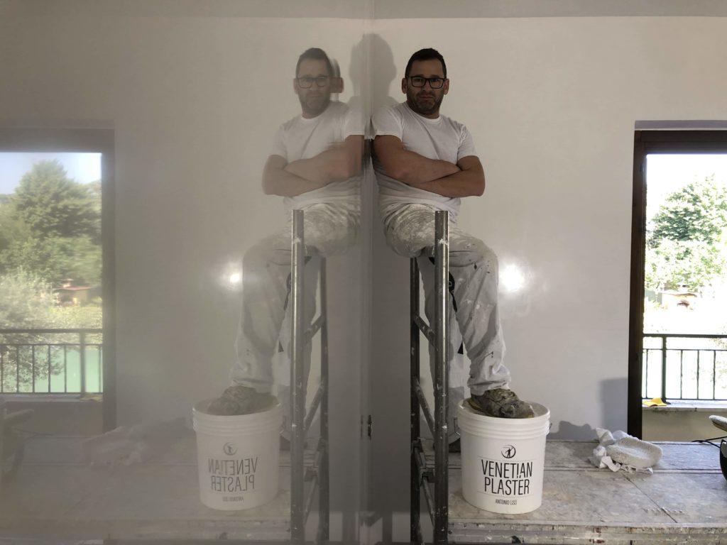Stucco veneziano bianco venetian plaster