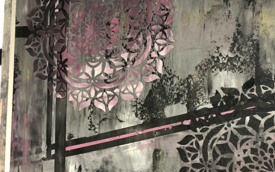 Stencil pareti